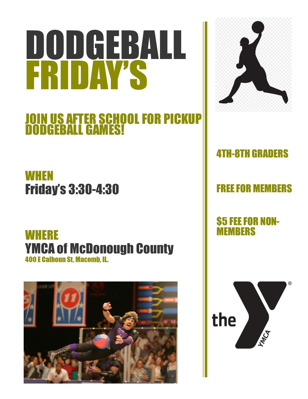 YMCA dodgeball fri
